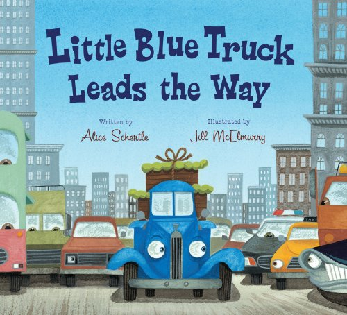 Little Blue Truck Leads The Way Board Book front-272595