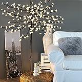 Kaemingk LED Blütenbaum, aussen, Aussentrafo, 192 warmweiße LED, 180 cm hoch 495097