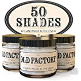 Old Factory Candles 50 SHADES set of 3: Leather, Jasmine Bubbles, Vanilla Sex - Choose Your Fragrance Theme Below