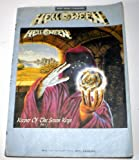 img - for Helloween Keeper of the Seven Keys Part 1 Guitar Tab Complete Band Score book / textbook / text book