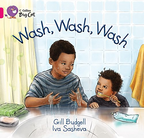 Collins Big Cat - Wash, Wash, Wash: Band 01A/Pink A