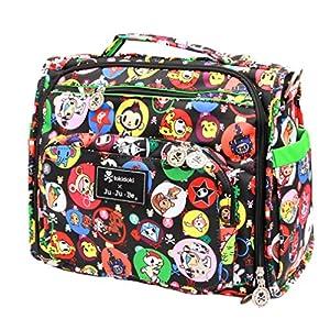 Ju-Ju-Be B.F.F. Tote/Backpack Style Diaper Bag - Tokidoki Bubble Trouble - Black/Green from Ju-Ju-Be