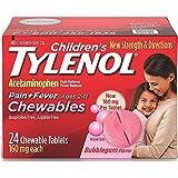 Children's Tylenol Chewables, Bubblegum, 24 Ct.