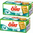 Le Chat - Eco-Efficacit� - Lessive �cologique en Tablettes - Bo�te 32 Tablettes / 16 Lavages - Lot de 2