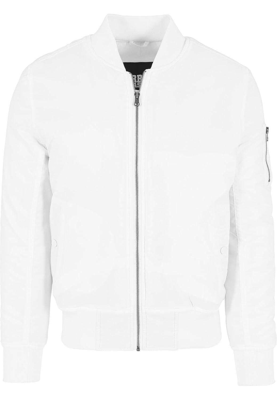 URBAN CLASSICS – Basic Bomber Jacket (white) kaufen