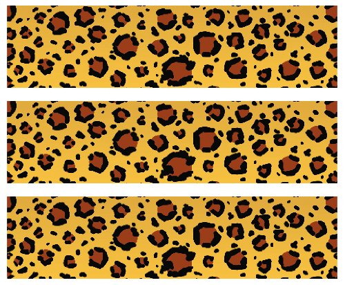 Safari Leopard Print Edible Cake Border Decoration