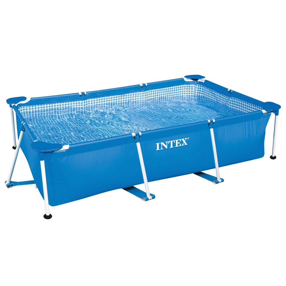 Intex Aufstellpool Frame Pool Set Family, Blau, 450 x 220 x 84 cm günstig bestellen