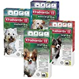 Bayer Advantix II 2-Month Dogs Red, 21-55-Pound