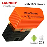 icarscan LAUNCH X431 OBD2 Code Reader Replace X431 iDiag X431 Easydiag plus X431 M-Diag Auto Diagnostic Tool Full Systems with 10 Software free Support for Android and Iphone Update Online