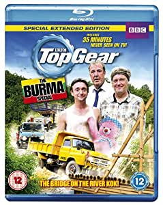 top gear the burma special blu ray import anglais dvd blu ray. Black Bedroom Furniture Sets. Home Design Ideas