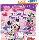 Minnie's Bow-Toons Trouble Times Two: Includes 18 Stickers!