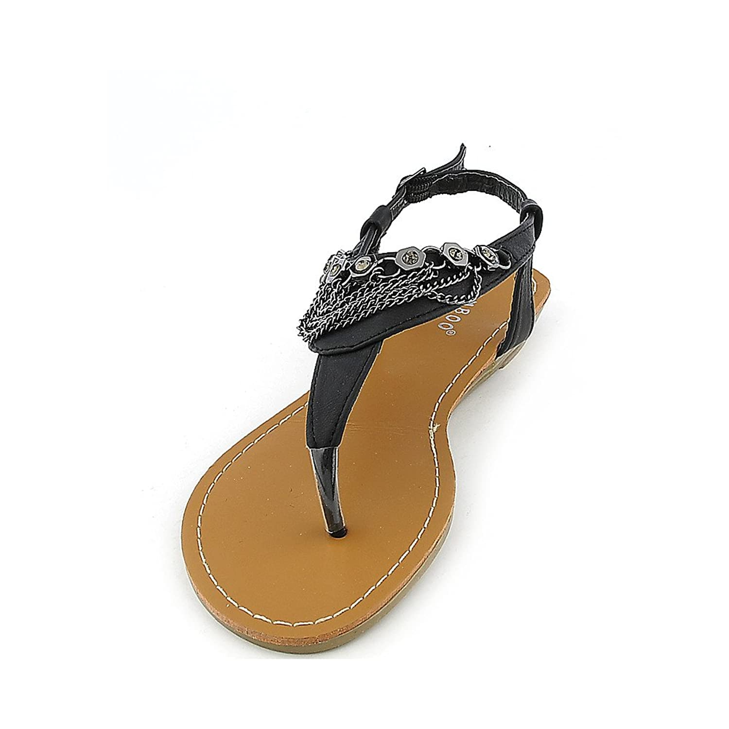 Bamboo Womens Wonderful-02 Sandal bamboo womens driven 77 casual wedge