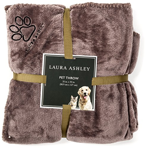 laura-ashley-reversible-micro-fur-pet-dog-bed-blanket-throw-slate-grey-gray