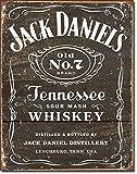 Jack Daniels - Weathered Logo Metal Tin Sign