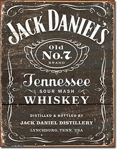 Jack Daniel's - Weathered Logo Metal Tin Sign