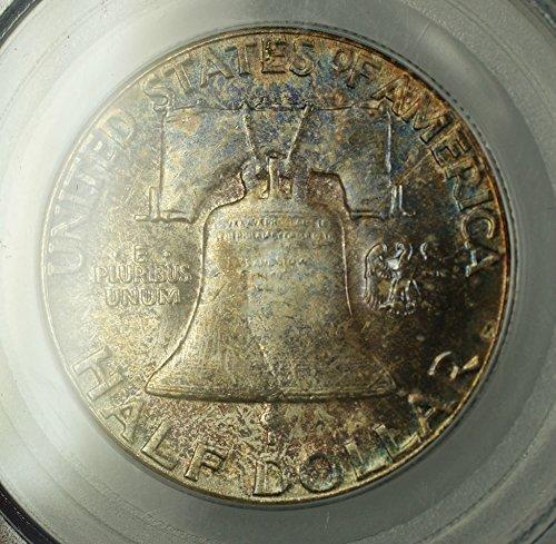 1958 No Mint Mark Franklin Half Dollar Half Dollar PCGS MS-66