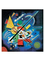 Artopweb Panel Decorativo Kandinsky Dipinti In Blu, 1924 - 70x70 cm Multicolor