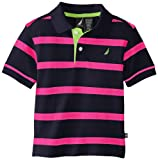 Nautica Baby Boys' Short Sleeve Contrast Stripe Polo