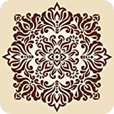 "Printelligent ""Beautiful Pattern"" SET OF 6 Printed Designer Bar And Dining Table Coaster. Great For Home And Office..."