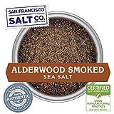 Alderwood Smoked Sea Salt (5oz Pouch Fine Grain)