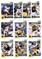 2011 Score Football Cards Pittsburgh Steelers Veterans Team Set (10 cards)