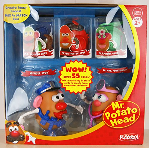 playskool-mr-potato-head-exclusive-set-officer-spud-dr-mrs-potato-head-mixn-match-with-over-35-parts