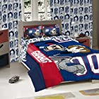 New York Giants NFL Twin/Full Sized Comforter with Shams