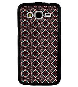 Printvisa Brown Diamond Pattern Back Case Cover for Samsung Galaxy J5::Samsung Galaxy J5 J500F