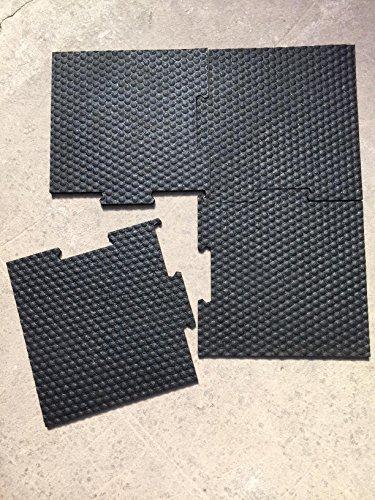 Nouvelle-Technologie-vulcanise-Dalle-caoutchouc-anti-vibration-anti-bruit-pour-machine--laver-60x60x1cm