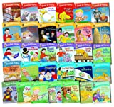 Read at Home - Oxford Reading Tree Full Collection - 31 Book Pack ( Level 1 - 5 Includes Picnic Time, Silly Races, Hungry Floppy, Featuring Kipper, Chip, Biff, Floopy and others) (Read at Hom) (Read at Home)