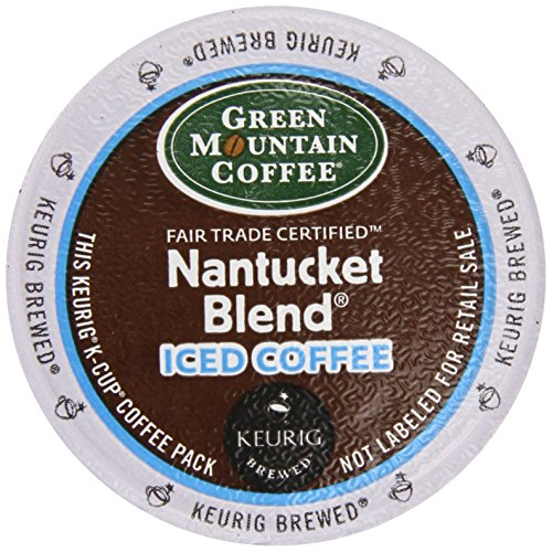 Green Mountain Coffee Nantucket Iced, K-Cup Portion Pack For Keurig K-Cup Brewers, 22-Count front-532390