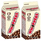 Whoppers Malted Milk Balls, 12-Ounce Cartons (Pack of 2)