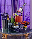 WICKED colorful wood blocks table top Halloween Decoration