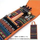 YOGOTO ペグハンマーケース ペグ専用バッグ ペグサイズ(20cm ~ 40cm) 収納可 ペグケース ハンマー ペグ 一括収納 に