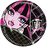 Amscan 23 cm Monster High 8 Plates