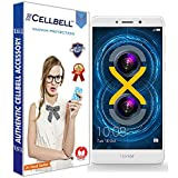 #7: CELLBELL® Tempered Glass Screen Protector For Huawei Honor 6X With FREE Installation Kit