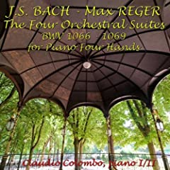 Suite No. 1 in C Major, BWV 1066, for Piano Four Hands : VI. Bourr�e I-II