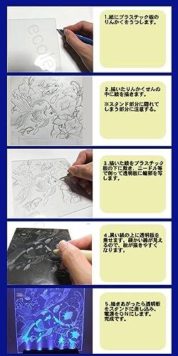 ライトスクラッチ 簡単エッチング彫刻工作キットの画像