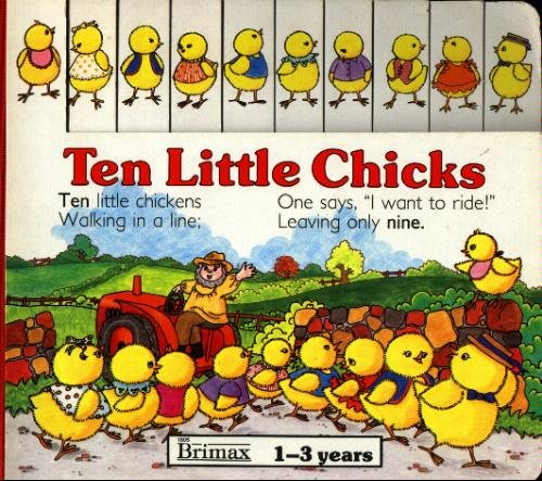 Ten Little Chicks: Counting Book (Board Counting Books)