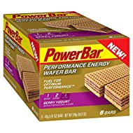 PowerBar Performance Energy Wafer Bar - 6 Count (Berry Yogurt)