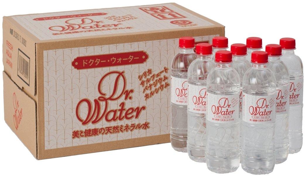 ドクターウォーター 天然シリカ水 500ml×24本