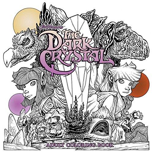 Jim Hensons The Dark Crystal Adult Coloring Book (Tapa Blanda)