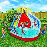 Spring & Summer Toys Banzai Sidewinder Falls 15 Foot Inflatable Waterpark Water Slide