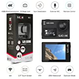 Orignal SJCAM SJ6 LEGEND Dual Screen 2? LCD Touch Screen 2880×2160 Novatek NT96660 Panasonic MN34120PA CMOS 4K Ultra HD Sport DV Action Camera Black+extra 1 battery (Color: Black)