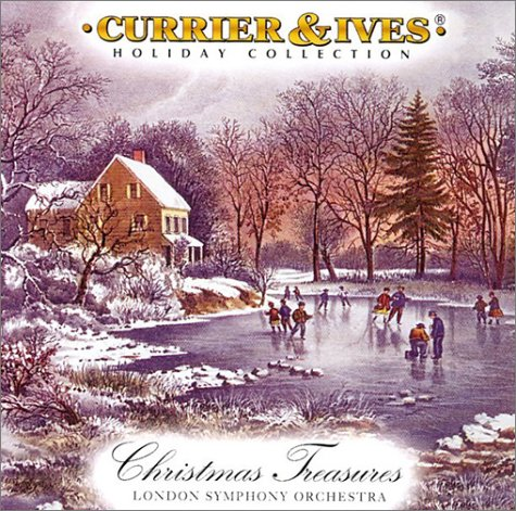 Christmas Treasures: Currier and Ives Component Album
