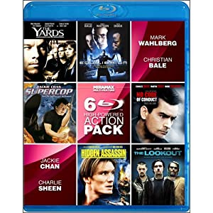 6-film High-powered Action V1 Blu-ray from Echo Bridge Home Entertainment