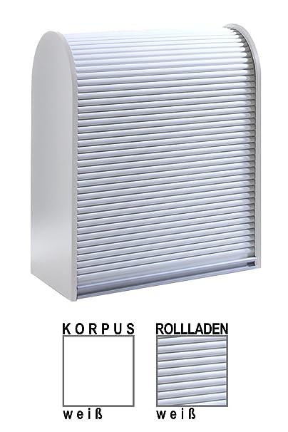 Klenk Dancer Collection - Universalschrank - Korpus: weiß / Rollladen: weiß