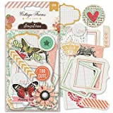 Pink Paislee Cottage Farms Paper Goods Ephemera Die Cuts