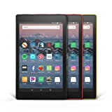Fire HD 8 3-Pack, 32GB - Includes Special Offers (Black/Punch Red/Canary Yellow) (Color: Black/Punch Red/Canary Yellow)