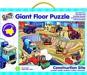 Galt Galt Giant Floor Puzzle Contruction Site